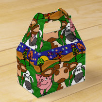 Funny Farm Animals Gift Box