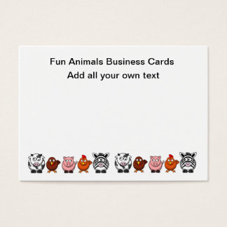 Funny Farm Business Cards