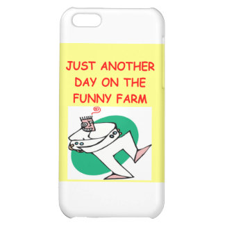 funny farm case for iPhone 5C
