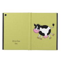 funny farm cow iPad air case