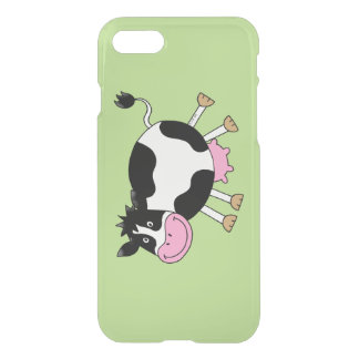 funny farm dancing cow iPhone 7 case