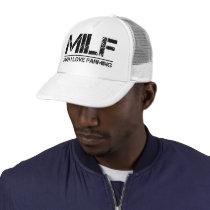 Funny Farm: Man I Love Farming Trucker Hat