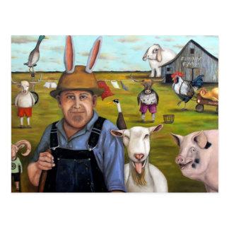 Funny Farm Post Card
