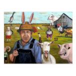Funny Farm Postcard