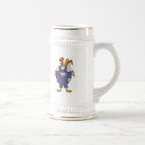 Funny Farm Rooster Beer Stein