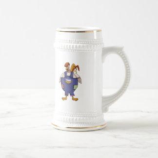 Funny Farm Rooster Coffee Mug