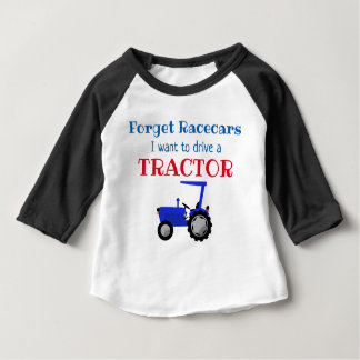 Funny Farm Tractor Driver Baby T-Shirt