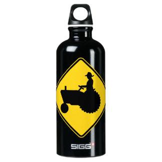 Funny Farm Tractor Road Sign Warning SIGG Traveler 0.6L Water Bottle