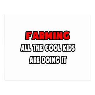 Funny Farmer Shirts and Gifts Postcard
