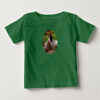 Funny Farmyard Chickens Hens & Rooster T-Shirt