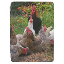 Funny Farmyard Chickens & Rooster iPad Smart Cover