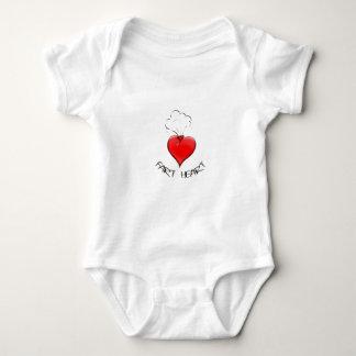 Funny Fart Heart Baby Bodysuit