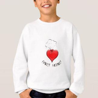 Funny Fart Heart Sweatshirt