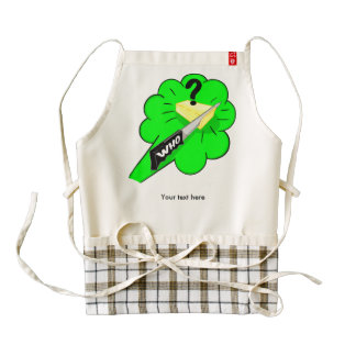Funny Fart Joke Customizable Zazzle HEART Apron