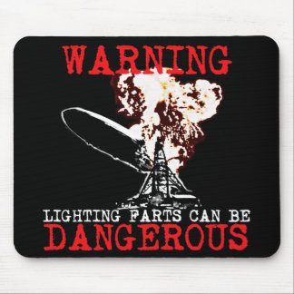 Funny farting mouse pad