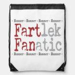 Funny FARTlek FANatic © Runner Cinch Bags