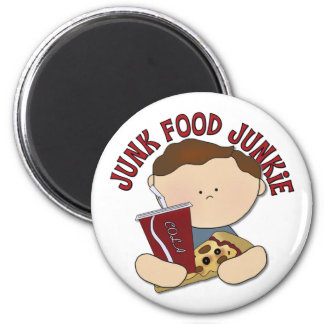 Funny Fast Food Kids Gift Magnet