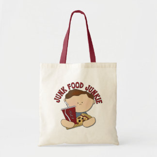 Funny Fast Food Kids Gift Tote Bag