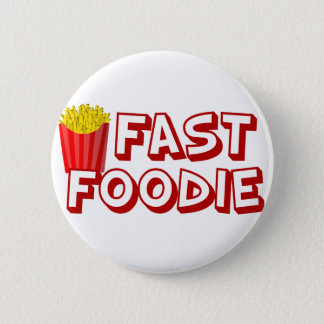 Funny Fast Food Pinback Button