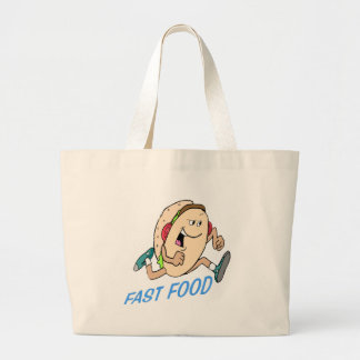 Funny Fast Food T-shirts Gifts Bag
