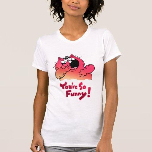 Funny Fat Carton Cat | Fat Yellow Cartoon Cat T-Shirt