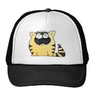 Funny Fat Cat Trucker Hat