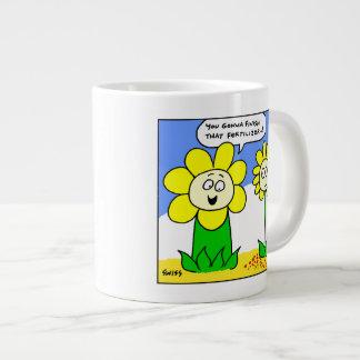 Funny Fat Flower Gardener Mug