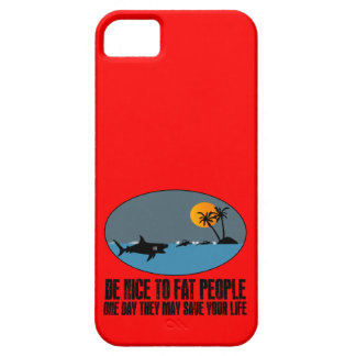 Funny fat joke iPhone 5 cases
