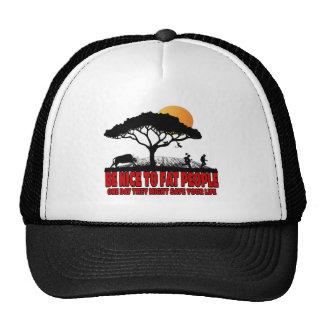 Funny fat joke trucker hat