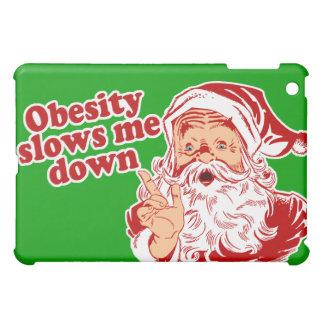 Funny Fat Santa iPad Mini Cases
