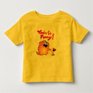 Funny Fat Yellow Cat Cartoon | Funny Cartoon Mouse Toddler T-shirt