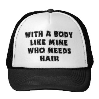 Funny Father's Day Bald Man Trucker Hat