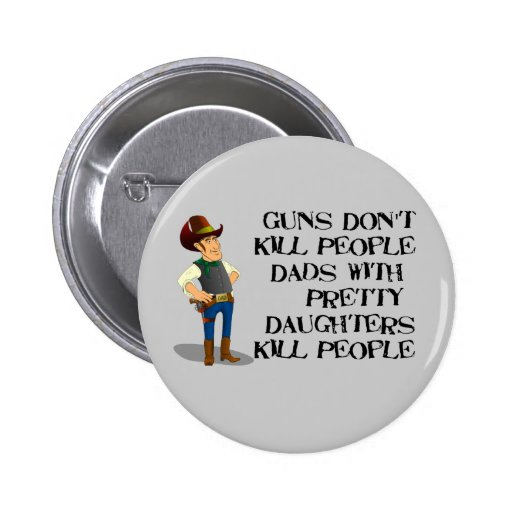 Funny Father's Day Button