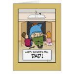 Funny Father's Day card: Work of Art Greeting Card