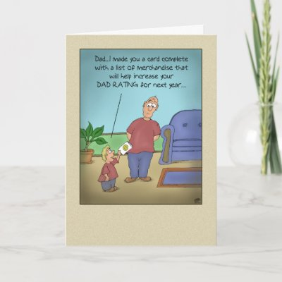 Funny Pictures For Cards. Funny Fathers Day Cards: Dad
