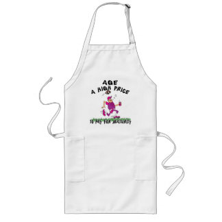 Funny Father's Day Football Dad Long Apron