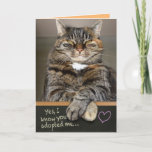Funny Father's Day From The Cat - I Own You Card