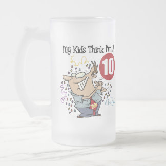 Funny Father's Day Frosted Mug