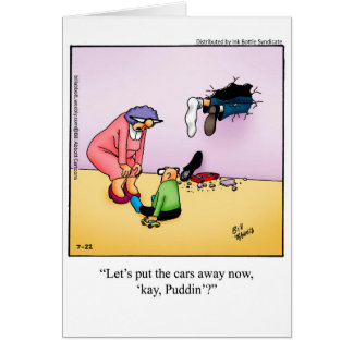 Funny Father's Day Humor Greeting Card
