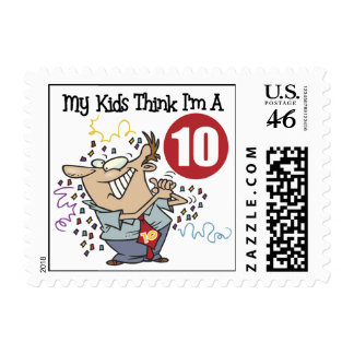 Funny Father's Day Postage Stamps