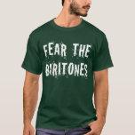 Funny Fear The Baritones Hooded Sweatshirt