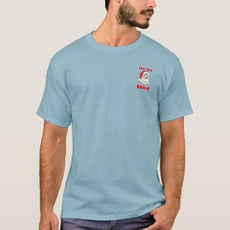 Funny Fear The Beard Santa Claus T-Shirt