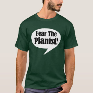 Funny Fear The Pianist Kids T-shirt