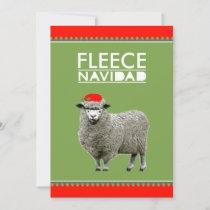 Funny Feliz Navidad Holiday Card