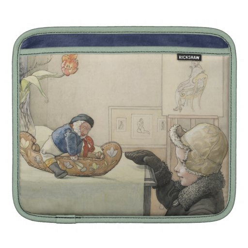 Funny Fellow Toy with Child iPad Sleeve