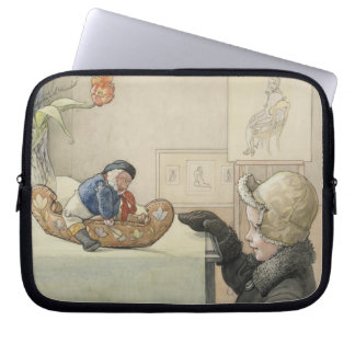 Funny Fellow Toy with Child Laptop Sleeves