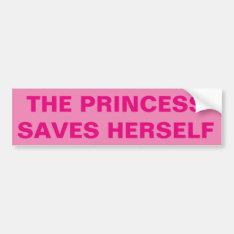 Funny Feminist Bumper Sticker at Zazzle