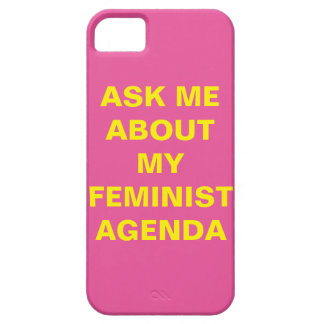 Funny Feminist iPhone 5 Case