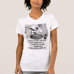 Funny Feminist Make Me a Sandwich T Shirts