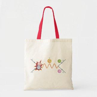Funny Feynman Diagram Canvas Bags